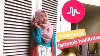 fatimah halilintar musical.ly 2017