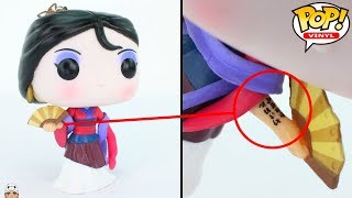UNBOXING - Mulan Funko POP! | SECRET DETAILS!! | Disney Princess | VINYL FIGURE