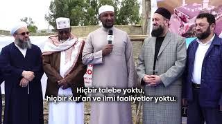 Habeşistan Ulemâsının Osmanlı'ya, Türk Milleti'ne ve Özellikle HAYDER'e Övgüler Yaptıkları Konuşmaları
