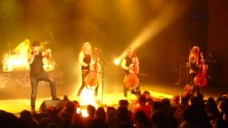 Apocalyptica - House of Chains live at Aztec Theatre in San Antonio, Texas