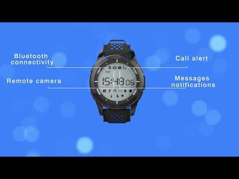 Dax-Hub IP67 impermeabile F3 Orologio Sportivo Intelligente Professionale Bluetooth 4,0