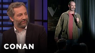 """Judd Apatow Shares Brody Stevens' Cut Scene From """"Funny People"""" - CONAN on TBS"""