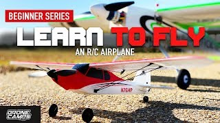 LEARN TO FLY an RC AIRPLANE 🏅