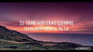 Prometiste - Pepe Aguilar (Karaoke Ukulele Unplugged) #SinUkulele