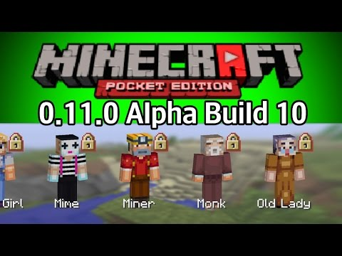 Minecraft Pocket Edition Alpha Build 10 - TPV İle Hunger Games'e Veda
