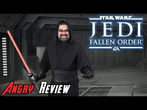 Star Wars Jedi: Fallen Order Angry Review - YouTube video thumbnail