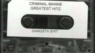 Criminal Manne - Don't Turn Around