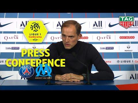 Press Conference Paris Saint-Germain – Olympique de Marseille (4-0) / 2019-20