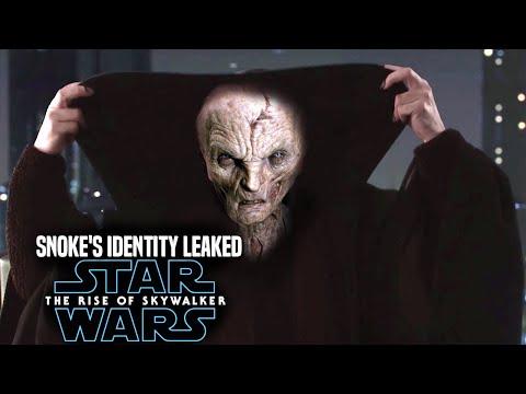 Star Wars The Rise Of Skywalker Snoke's Identity R | Youtube