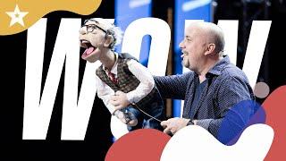 Andrea Fratellini & Zio Tore, il ventriloquo cantante di Italia's Got Talent