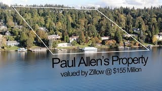 Microsoft co-founder Paul Allen's Mercer Island home