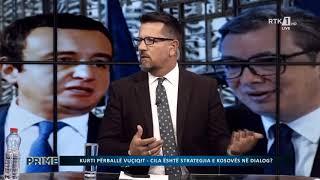 RTK Prime - Kurti përballë Vuçiqit - Cila është strategjia e Kosovës në dialog? 21.07.2021