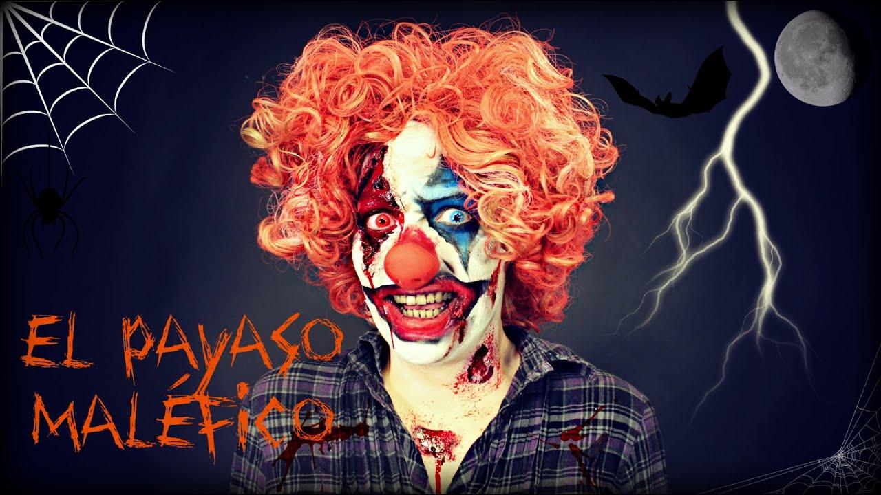 Maquillaje Halloween: El payaso maléfico : Malefic Clown #nonihalloween