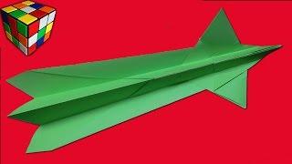 Как сделать САМОЛЕТ из бумаги. Самолет  оригами своими руками. Поделки из бумаги