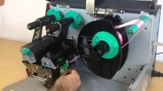 Pro Ribbon Printer - Loading the Ribbon