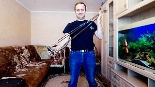 Как сделать рыболовную снасть хапугу