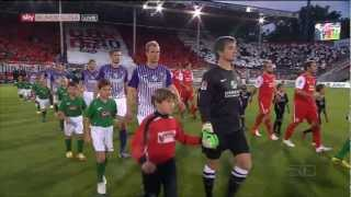 preview picture of video 'FC Energie Cottbus - FC Erzgebirge Aue  ( 2.Spieltag 10. August 2012 )'