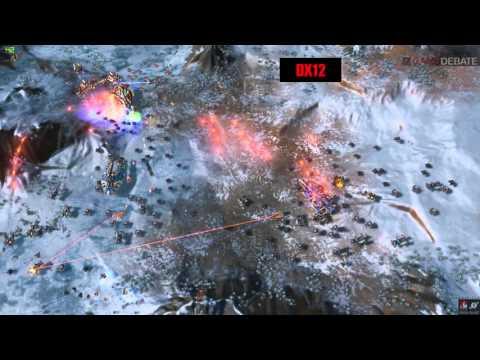 Ashes of the Singularity PC DirectX 11 vs DirectX 12 Graphics Comparison Benchmark