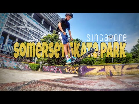 Singapore Skate Park @ Somerset | amazing people, colorful place