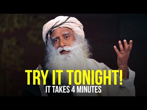 Sadhguru - Learn How To Sleep CorrectlyTRY IT TONIGHT!