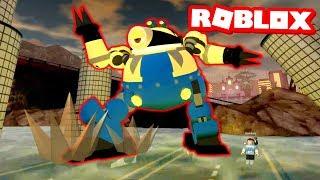 GIANT ROBOT MINION!! Roblox Minion Adventure Obby - Part 2
