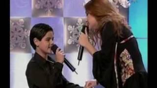 Abraham Mateo (10 años) y Melody  LA FUERZA DE MI CORAZON