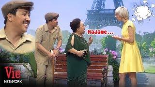 Cười không ngậm được mồm với màn bắn tiếng Pháp hài hước của NSND Ngọc Giàu và Trấn Thành | Ơn Giời