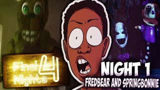 FINAL NIGHTS 4 (NIGHT 1 FULL GAME) - FREDDY AND CHICA ARE FREED!