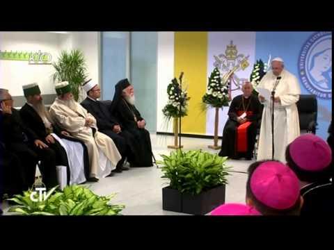 Rencontre du Pape avec les responsables des autres religions