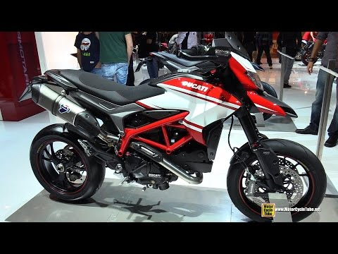 2015 Ducati Hypermotard SP - Walkaround - 2014 EICMA Milan Motorcycle Exhibition