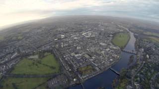 preview picture of video 'A quick trip around Perth - Paramotoring 6th Jan 2013'