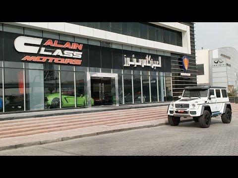 Dubai Supercar Shopping Fail