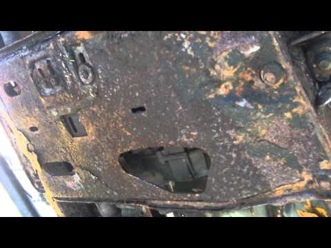 1995 Jeep Wrangler YJ Rusted out Frame and Tub - I have just the solution for both YJ and TJ's