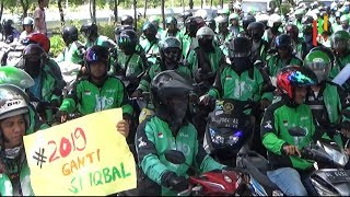 Ratusan Driver Ojol Aceh Unjuk Rasa Tolak Pemotongan Bonus