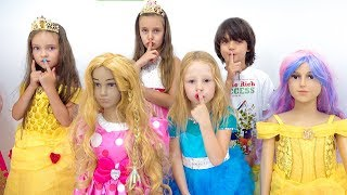Nastya and her friends had a playdate