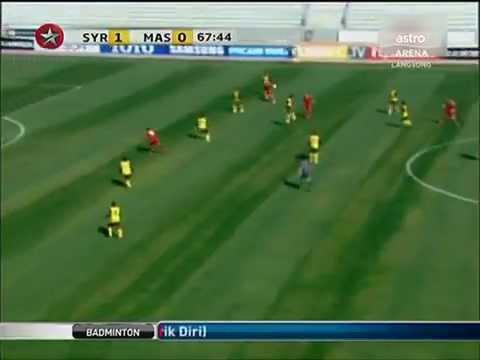 (HIGHLIGHT~KELAYAKAN OLIMPIK 2012) : SYRIA U23 [3] vs [0] MALAYSIA U23