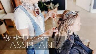 Assisting In A Hair Salon - How To Hire The Best Assistant Ever! | Hairstylist Business Tips
