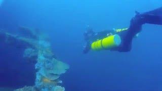 3/ 28/ 2015 scuba diving log- 1st dive- El Capitan, Subic Bay, Philippines