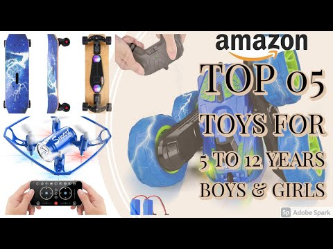 Top 05 Toys || Boys & Girls || 5 to 12 years old || Best Selling on Amazon || Amazon Online | AOS