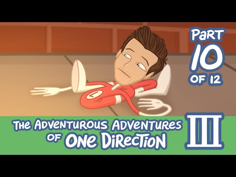 The Adventurous Adventures of One Direction 3:  Part 10