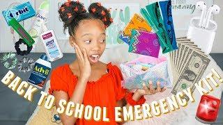 Back To School Emergency Kit 2019