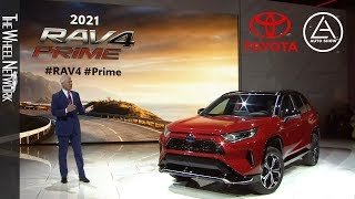 2021 Toyota RAV4 Prime reveal at the Los Angeles Auto Show