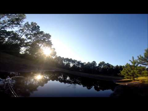 Fly Fishing A Retention Pond