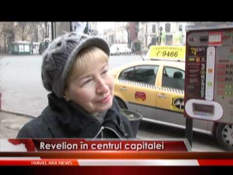 Revelion în centrul capitalei