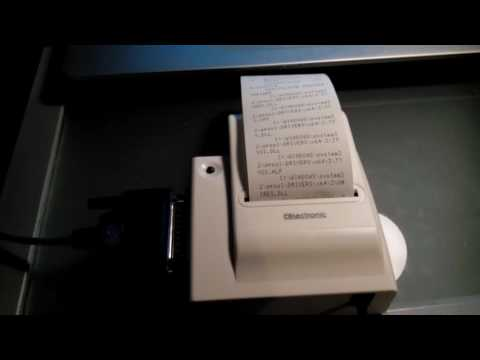 celecrtronic D10 thermodrucker bondrucker test