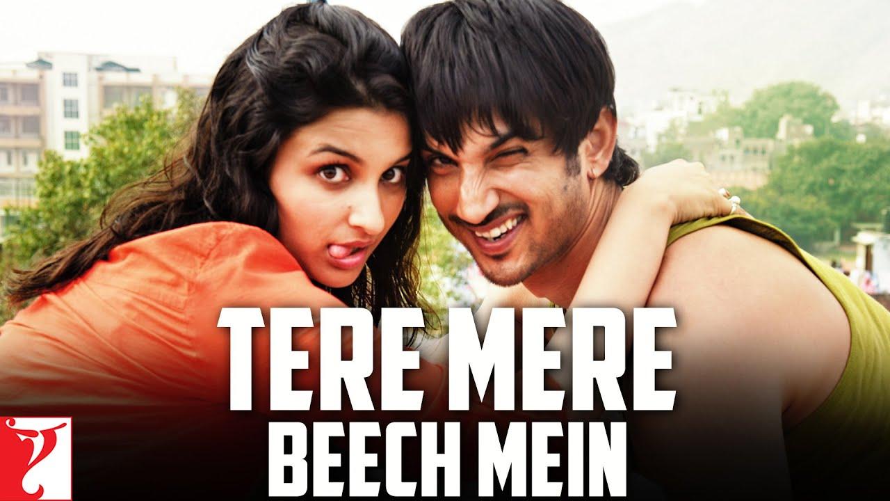 Tere Mere Beech Mein Hindi lyrics