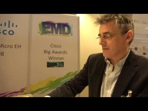 EMD Show Award Winning IoT Node Technology at the IDTechEx Show!