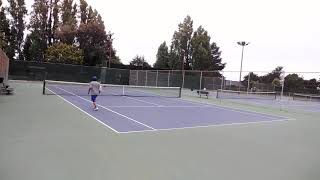 20190713 Backhand practice 5 of 8