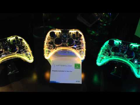 Xbox One Controllers Rainbow Lights Are So Pretty