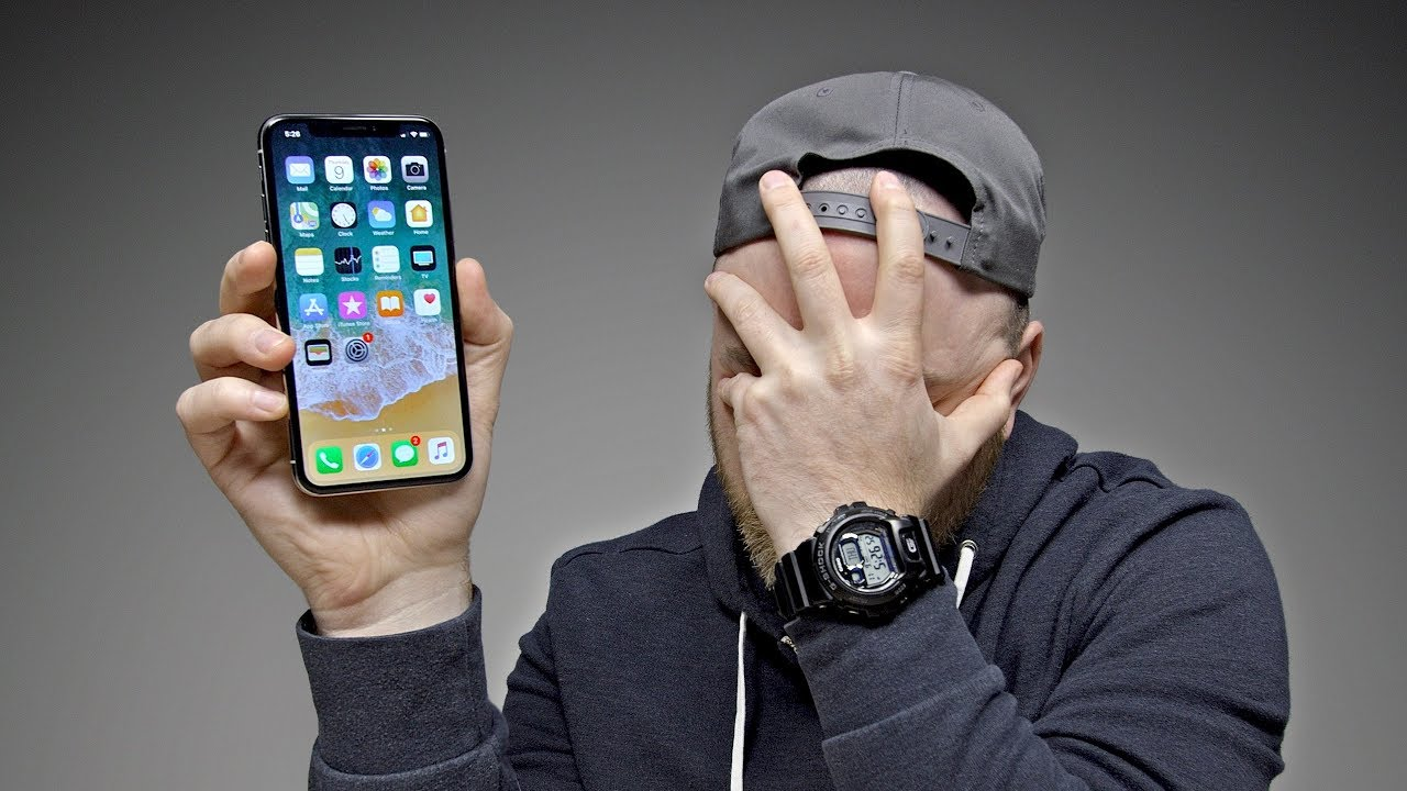 Switching to the iPhone X... thumbnail